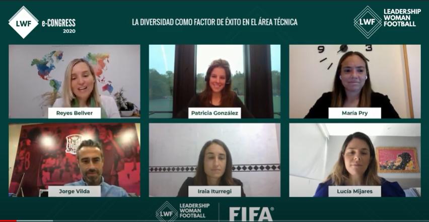 Leadership Woman Football y… ¡la Selección Española de fútbol femenino en Sevilla!
