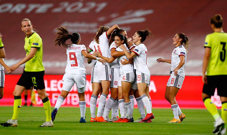 La Selección Española femenina brilla en Sevilla