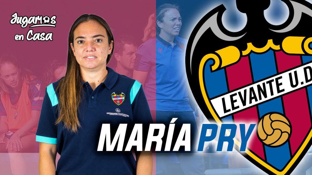 Entrevista Maria Pry para Jugamos en Casa