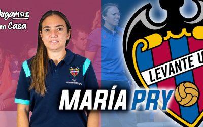 MARÍA PRY, cuenta sus inicios en el mundo del fútbol y la actualidad como entrenadora
